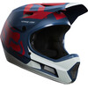 Fox Rampage Comp Preme Helmet Men blue/red